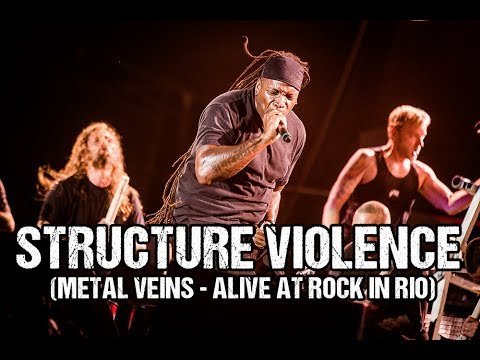 Sepultura - Structure Violence (Metal Veins - Alive at Rock in Rio) [feat. Les Tambours du Bronx]
