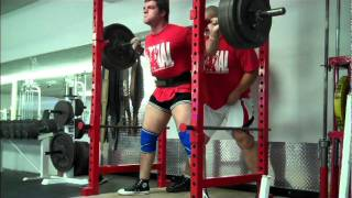 Sheiko Week 1 Day 1 Squats And Close Grip Bench Press Ben Rice 46 Days Out