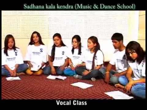 Vocal Class-sadhana kala kendra.flv