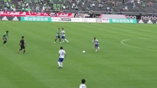 CB野田のコーナーからの先制点! 16.6.12 ガイナーレ鳥取0-4ガンバ大阪U-23