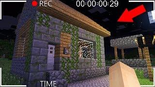 KÖYDE 1000 YILLIK TEHLİKELİ KÖYLÜ EVİNİ BULDUM! 😱 Minecraft