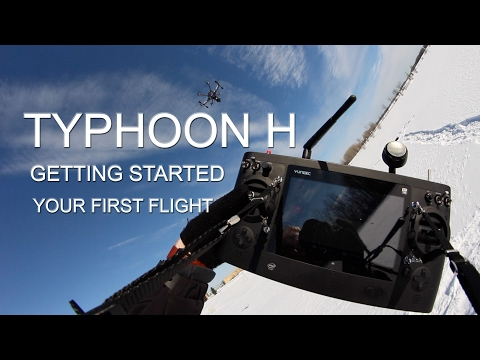 TYPHOON H - Getting Started - Set Up and Your First Flight