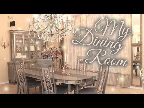 Dining Room Tour & Transformation - Beauty and the Beast Inspired 🌷