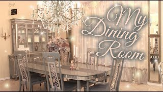 Dining Room Tour & Transformation - Beauty and the Beast Inspired - Renter-Friendly