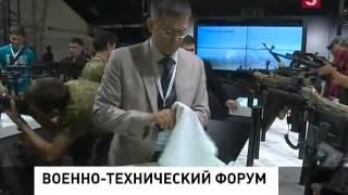 Военно-технический форум «Армия-2015» заработал в открытом режиме