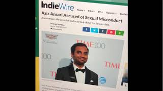 Aziz Ansari sees his misconduct allegations