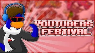 Awaiting Youtubers Festival (Club Penguin Rewritten LIVE STREAM) #RoadTo650Subscribers