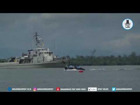Detik Detik Peledakan Ranjau Laut Sisa Perang Dunia Kedua di Kotabaru