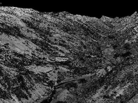LiDAR Viewer Fly Through Enriquillo Fault