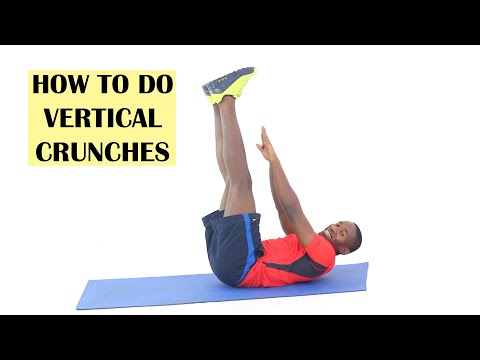 How to Do Vertical Leg Crunches (with Instructions)