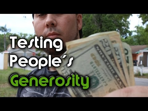 Testing People's Generosity - Honesty Money Experiment | OmarGoshTV