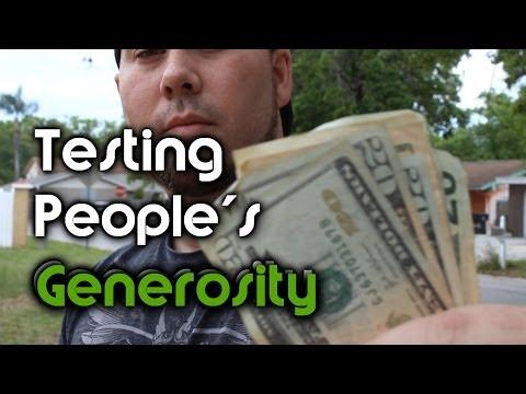 Testing People's Generosity - Honesty Money Experiment | OmarGoshTV