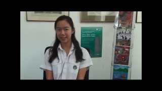 Elin Chan on how entering the competition improved her English.