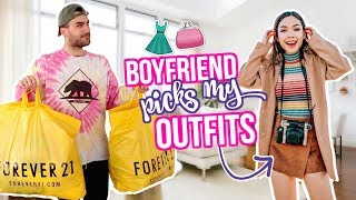 Boyfriend Buys Girlfriend Outfits! Shopping Challenge 2018!