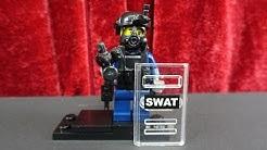 """CUSTOM SWAT FIGUR AUS ORIGINAL LEGO TEILEN"""