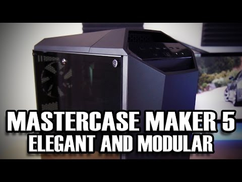 Cooler Master Mastercase Maker 5 with Tempered Glass panel