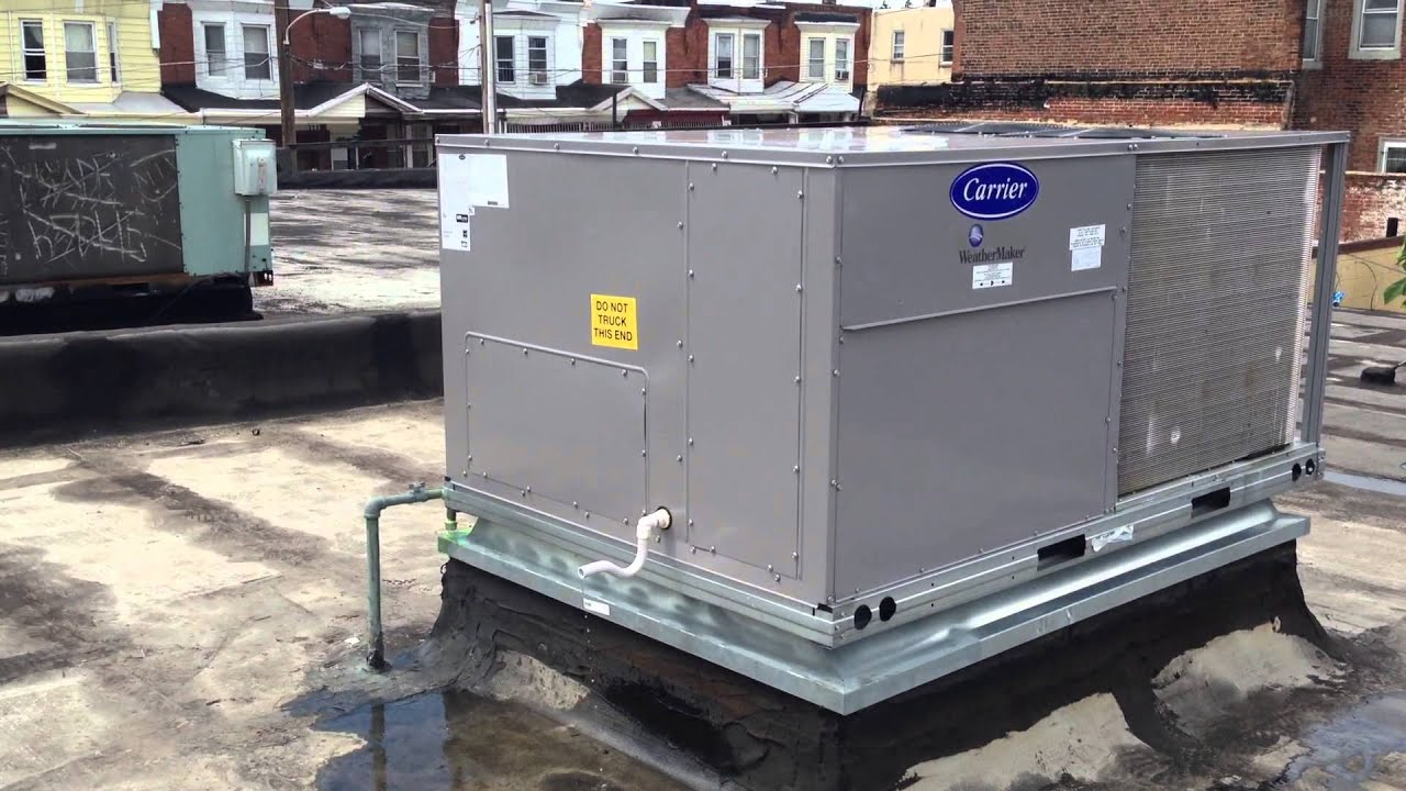 Hvac Philly 7 5 Ton Carrier A C System Youtube