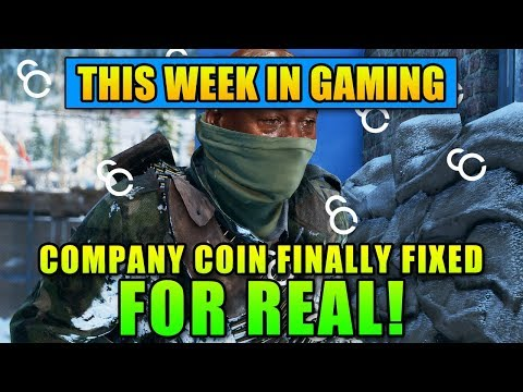Company Coin Finally Fixed FOR REAL! - This Week In Gaming | FPS News