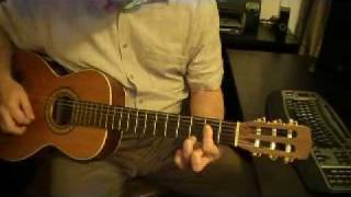 beginner guitar lessons a7 chord open position fingering 3