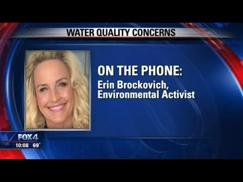 ⭐️Erin Brockovich and Plano, Texas water officials (3/15/18)