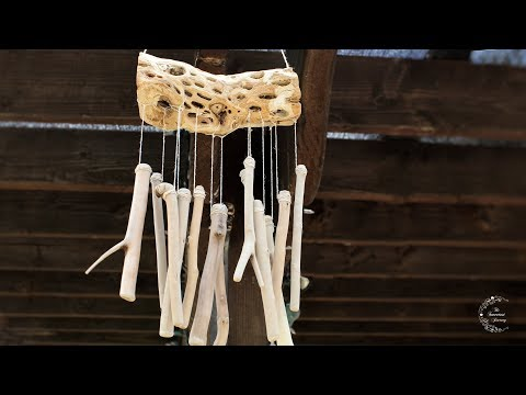 DIY Wood Wind Chime Tutorial | How To Make A Wind Chime | The Sweetest Journey