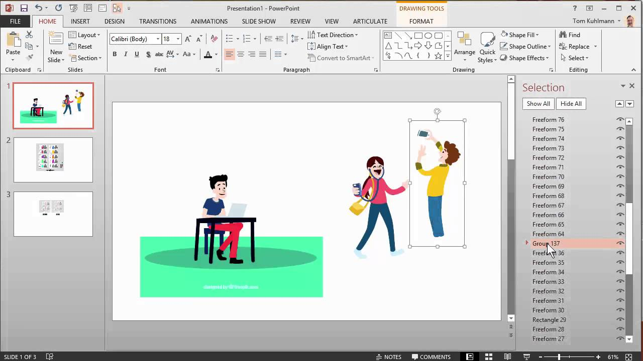 How to Edit Free Vector Images in PowerPoint | The Rapid E
