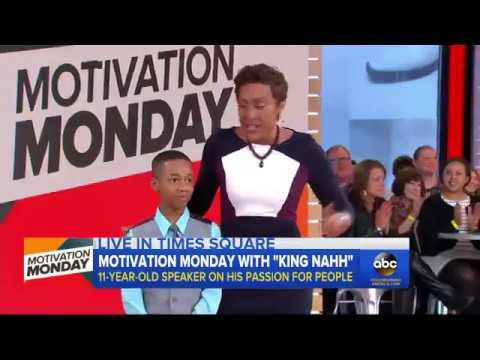 KingNahh: Spreading Motivation on Good Morning America
