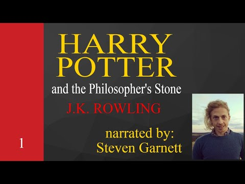 Reading Harry Potter - Book 1 [ relax * asmr * sleep ]