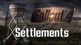 Fallout 4 - Player Run Settlements