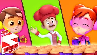 Muffin Man | Nursery Rhymes Baby Songs | The Supremes