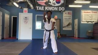WCTKD Taegeuk Chil Jang ( Form 7 )