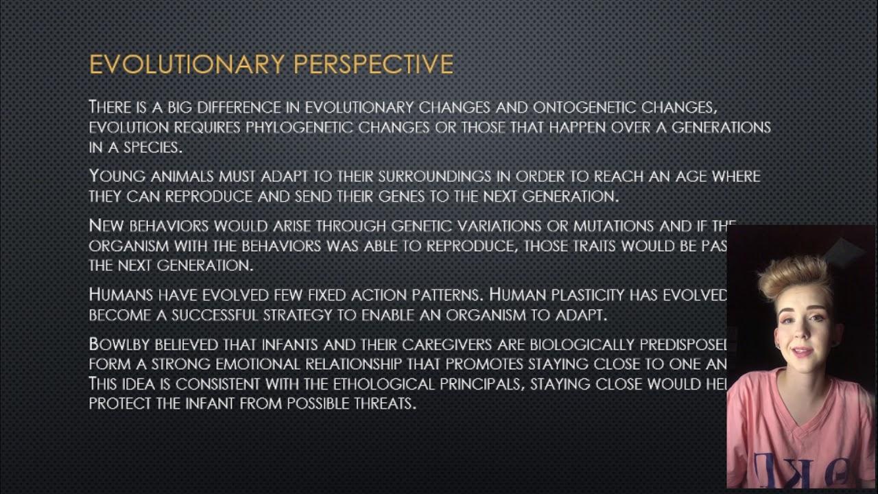 Ethological Theory Presentation - YouTube