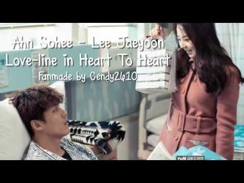 Ahn Sohee ♥ Lee Jaeyoon | Love-line In ♥ Heart To Heart ♥  안소희 ♥ 이재윤 ♥ 하트투하트