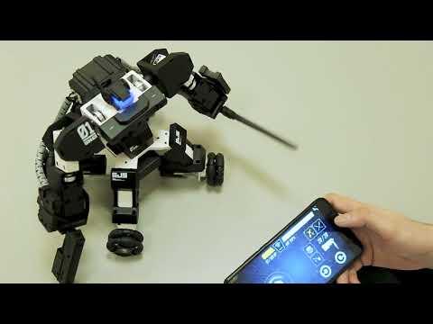 Настоящий робот боец - GANKER! Устрой бои роботов у себя дома!