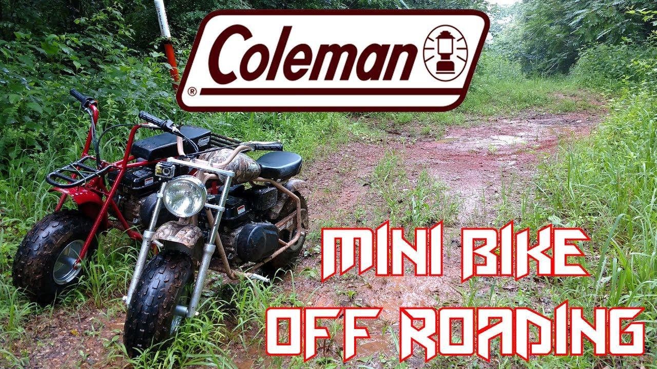 826f7d23f17 Coleman CT200U / CT200U-EX Off Road Test ~ Mini Bike Monday Ep3 ...