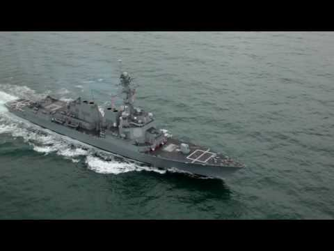 USS William P Lawrence (DDG 110) at sea