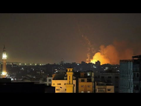 Israel intensifies strikes on Gaza, Hamas retaliates with rocket barrage