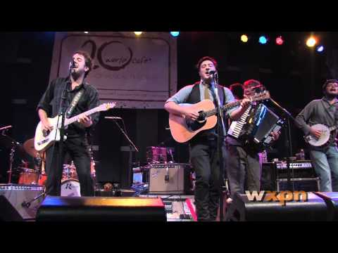 """Dawes with Mumford & Sons - """"When My Time Comes"""" (Live at WXPN)"""
