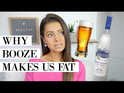 ALCOHOL & FAT LOSS | Why Booze Makes Us Fat ��