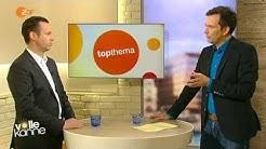 """Krank durch Schichtarbeit. Top-Thema bei ZDF """"Volle Kanne"""", Sendung vom 22.04.2014"""
