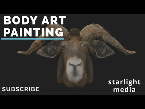Body art #painting by jbo air brush #amazing #artist