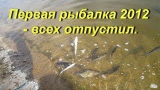 Риболовля на мах.Зловив - відпустив.М.М.2012.05.11 mp4