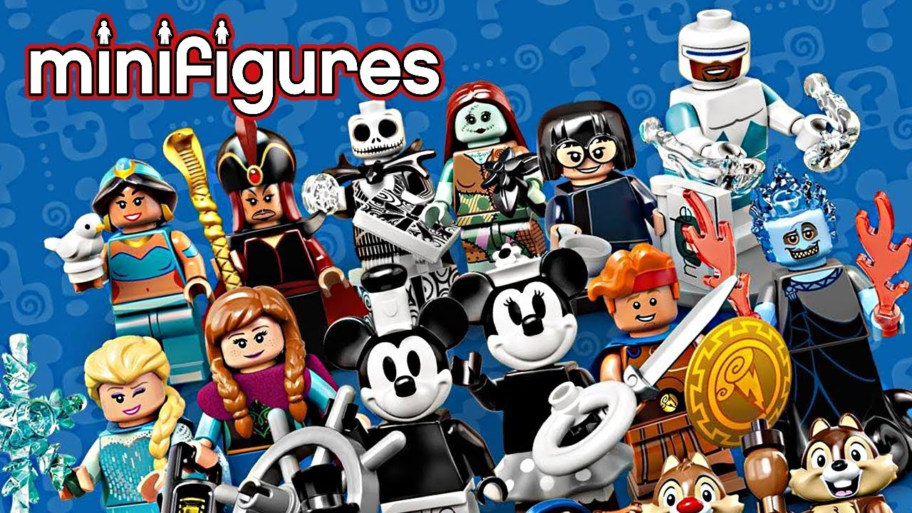 LEGO Disney Minifigures Series 2 - SO many surprises, but NOT all  surprising!