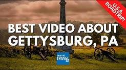 My Top 5 in Gettysburg, Pennsylvania