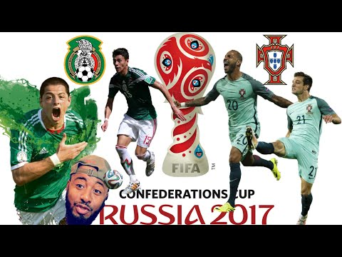 🇲🇽 Mexico Vs Portugal 🇵🇹 2-2 REACTION | FIFA CONFED CUP GROUP A