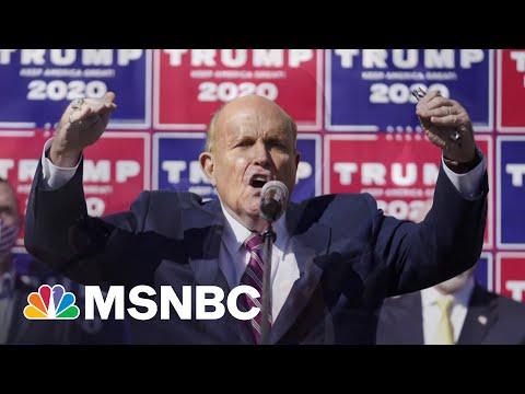 'Utter Nonsense': Chuck Rosenberg Blasts Giuliani's Search Warrant Protests | MSNBC