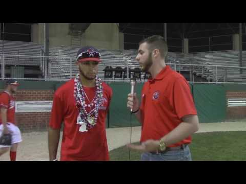 Post Game Interview with Cayman Richardson