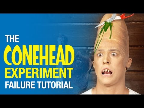 The Conehead experiment failure tutorial