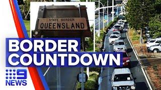 Coronavirus: Queensland border to close to NSW and ACT | 9 News Australia