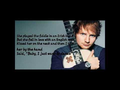 Ed sheeran galway girl(lyrics)